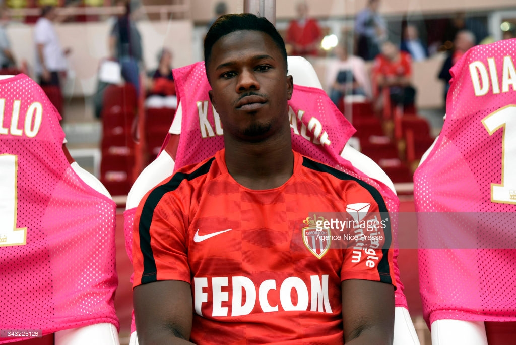 Balde Keita of Monaco during the Ligue 1 match between AS Monaco and Strasbourg at Stade Louis II on September 16, 2017 in Monaco, . (Photo by Pascal Della Zuana/Icon Sport )