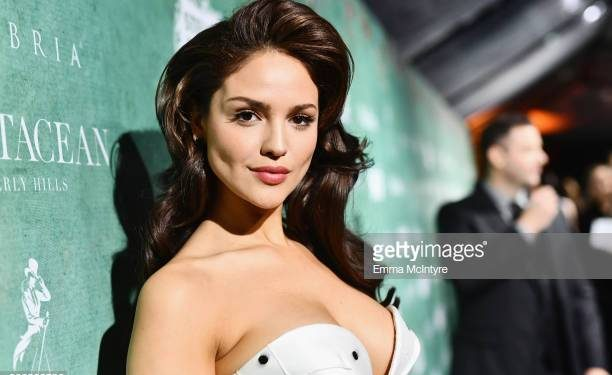 BEVERLY HILLS, CA - MARCH 02: Eiza Gonzalez attends Women In Film Pre-Oscar Cocktail Party presented by Max Mara and Lancome with additional support from Crustacean Beverly Hills, Johnnie Walker, Stella Artois and Cambria at Crustacean Beverly Hills on March 2, 2018 in Beverly Hills, California. (Photo by Emma McIntyre/Getty Images for Women in Film)